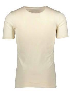 Valkoinen lyhythihainen aluspaita silkkivillaa - Silkkivilla -  6414144220127 - 1. Ruskovilla 04d7d869be