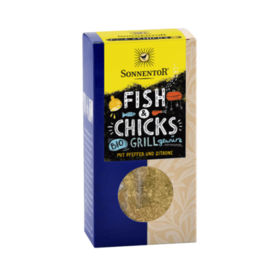 Fish & Chicks mausteseos 55g Sonnentor - Mausteet - 9004145008649 - 1